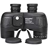 USCAMEL® レンジファインダーコンパス付き10x50防水高倍率双眼鏡 - 適用 バードウォッチング コンサート狩猟