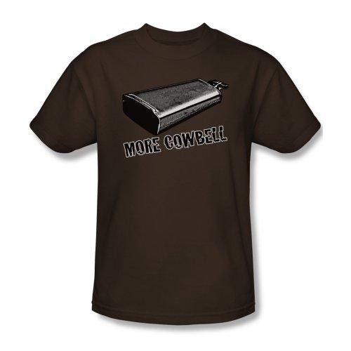 Mehr Cowbell - Männer T-Shirt In Kaffee, XXX-Large, Coffee