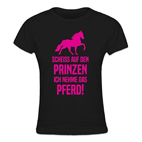Shirtcity Scheiss auf Prinzen, ich nehme das Pferd Frauen T-Shirt by
