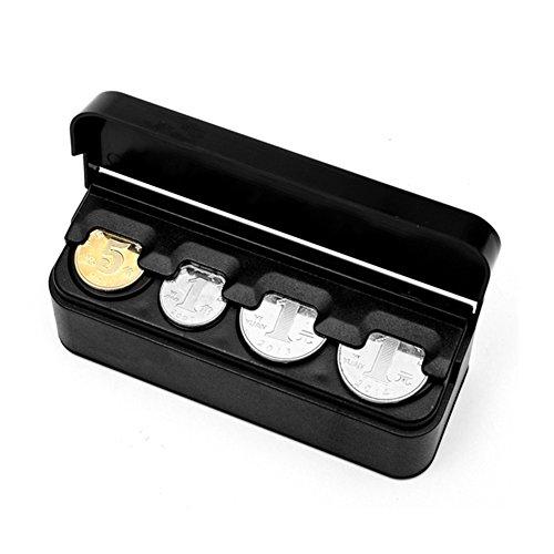 Fxhan Automatische organizer voor munten, portemonnees, mappen, munten, munten, portemonnees, capsules, munten en munten