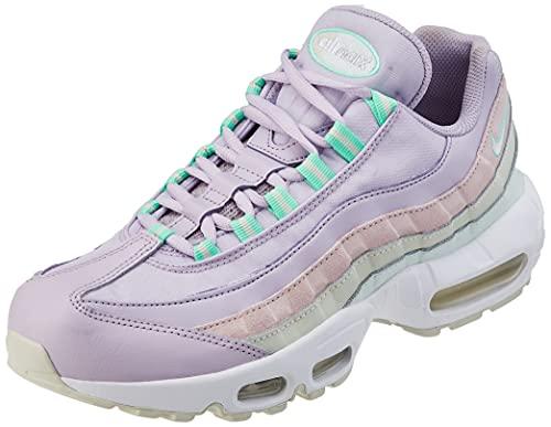 Nike Air Max 95, Scarpe da Ginnastica Donna, Infinite Lilac/Sea Glass/Green Glow/White, 40 EU