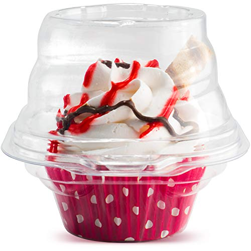 Cupcake Holders - Individual Cupcake Containers -