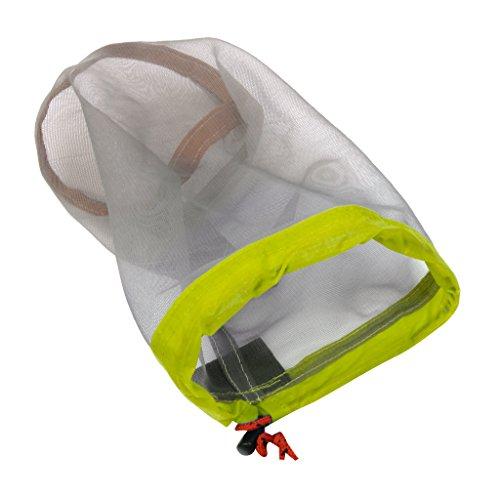 chiwanji Viaje Camping Deportes Al Aire Libre Malla Ultraligera Material Saco Bolsa de Almacenamiento con Cordón - M