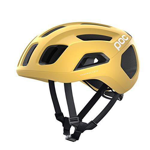 POC Casco de Bicicleta Unisex para Adultos, Ventral Air Spin, Sulfur Yellow...