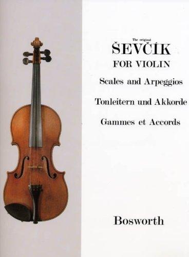 Tonleitern + Akkorde. Violine