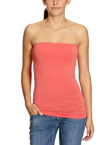 ONLY Damen Top 15051564, Gr. 40 (L), Rot (Spiced Coral)