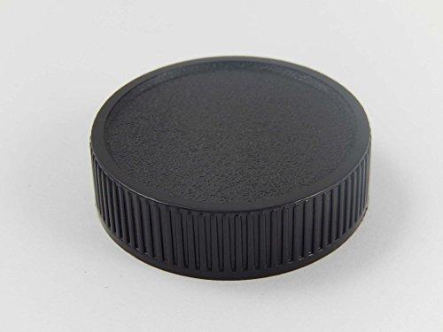 vhbw Objektiv Deckel Cap Abdeckung schwarz M42-Bajonett passend für Exakta, Fujica, Pentax, Praktica, Zeiss, Zenit