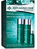 Developlus Anti-Aging Hair Treatment System Complete Kit- Moisturizing Deep Conditioning Hair and Scalp Treatment