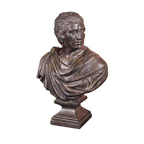 Caesar die große Statue, Caesar Büste Statue Modell Harz Kunst Retro Dekoration Sammlung Skulptur