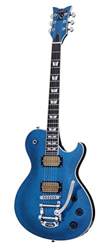 Schecter 6 String SOLO-6B BLUE SPARKLE, (175)