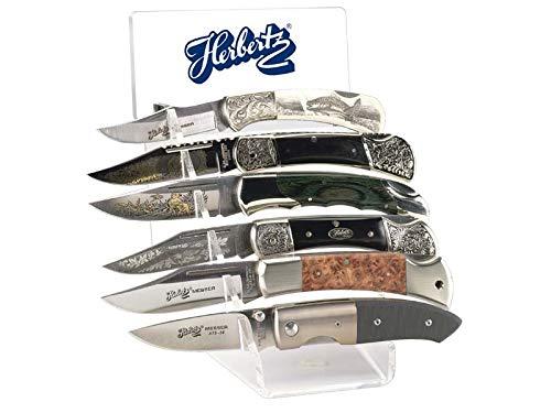 Herbertz Messerständer 3009 für 6 Messer (ohne Messer)