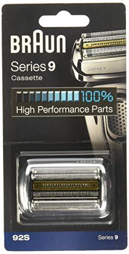 Braun 92B Series 9 Rasoio Elettrico Lamina di ricambio e cassette Cartuccia Nero