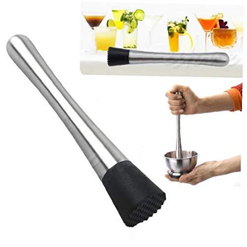Case Cover Professionelle Muddler Edelstahl Mojito Stampfer Obst Mixer DIY Barware Werkzeug 1pc