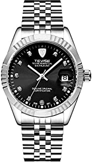 Tevise Casual Watch Analog for Men, Silver, 629-003SB