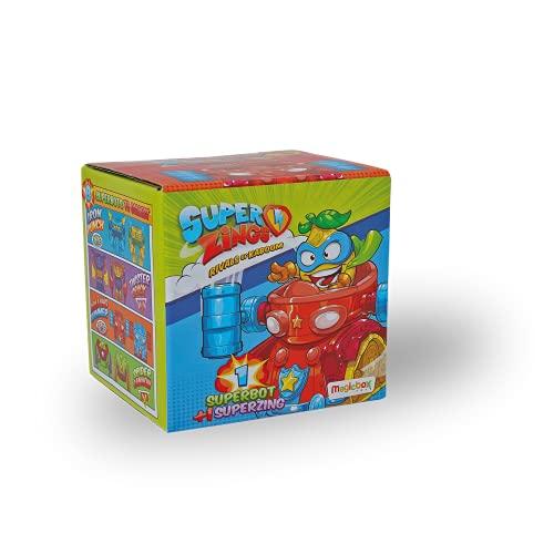 superzings- Superbots, Multicolor (china MBXPSZ3D068IN00) , color/modelo surtido