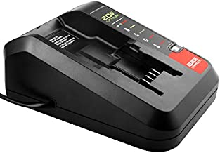 ARyee PCC692L 20V MAX Lithium Battery Charger Replacement for Porter Cable 20V Battery PCC685L PCC685LP PCC680L and Black Decker 20V Battery LBXR20 LBX4020