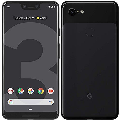 Google Pixel 3 XL Handy Smartphone 6,3 Zoll 64GB 12,2 MP Kamera Touchdisplay, Farbe:Schwarz (Black) (Generalüberholt)