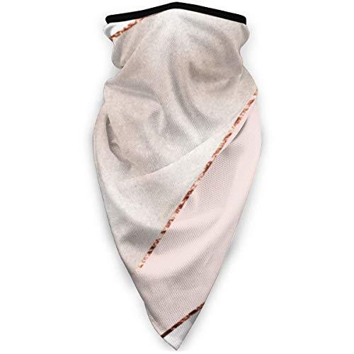 Magia Headwear empalmada mezclada de mármol de oro rosa, unisex, variedad, bufanda, bandana, gorra, polainas para el cuello, bufanda para la cabeza, máscaras faciales