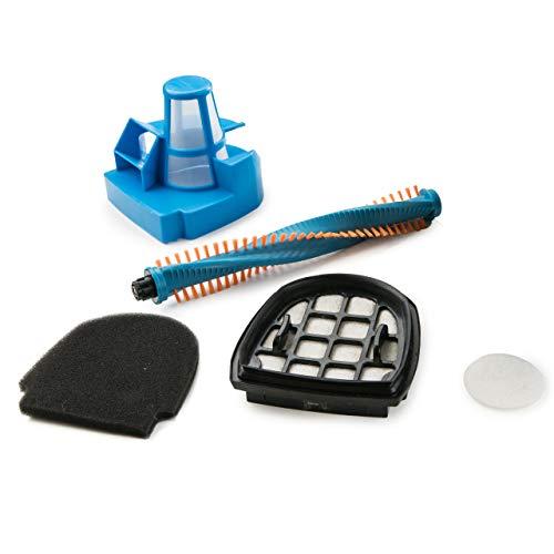 Genius Invictus M5 Akku Staubsauger | kabelloser Staubsauger | Handstaubsauger | 35.000 U/Min | 160 Watt | 3 in 1 | LED-Lichter | Bodenstaubsauger | NEU (3tlg. Ersatz-Zubehör)