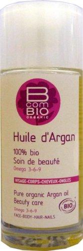B com Bio - Huile d'argan corps et cheveux