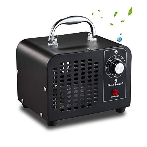 SXJC Ozone Generator 5000Mg/H Eliminador De Olores Comercial Industrial Purificador De Aire Ambientador Esterilizador para El Hogar, Oficina, Escuela, Garaje, Gimnasio,110V