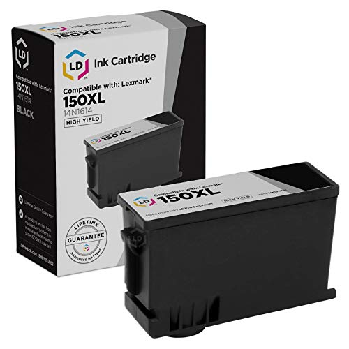 LD Compatible Ink Cartridge Replacement for Lexmark 150XL High Yield (2 Black, 2 Cyan, 2 Magenta, 2 Yellow, 8-Pack)