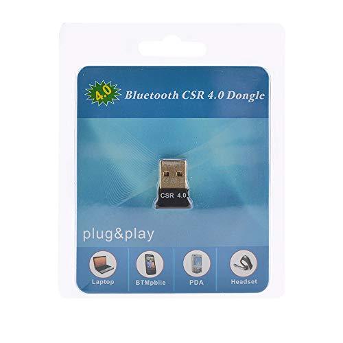Yizhet USB Nano Bluetooth 4.0 Adapter V4.0 Plug & Play Mini Bluetooth USB Dongle Receiver Transmitter für PC, Kopfhörer, Laptop, Tastatur, Maus, Drucker, Windows 10 fähig (Bluetooth 4.0)