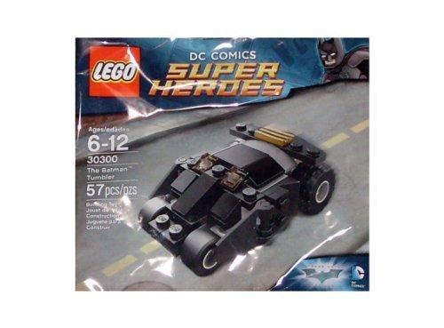 Lego Super Heroes 30300 The Batman Tumbler Promotional Set by LEGO TOY (manual en inglés)