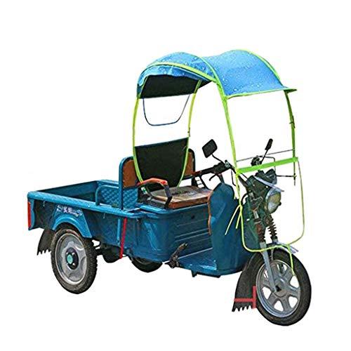ZZZR Dreirad Markise Windschutzscheibe, Windschutzscheibe Sonnenblende Windschutz, Windschutz Regenschirmschutz Wasserdicht