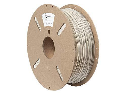 3DTomorrow Cotswold - Filamento in PLA calcare, 1,75 mm, PLA marmo, 100% cartone riciclabile, filamento per stampante 3D ecologico