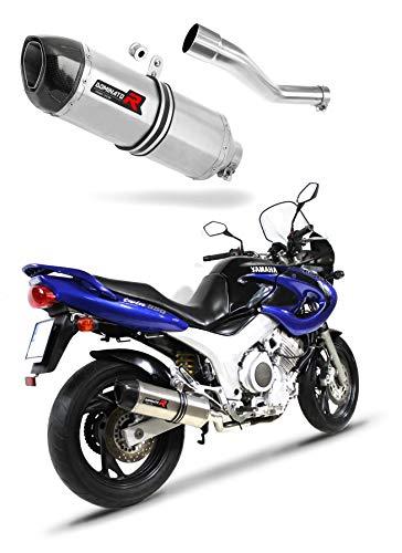 TDM 850 côté Droit Pot d'échappement HP1 Carbon Silencieux Dominator Exhaust Racing Slip-on 1991 1992 1993 1994 1995 1996 1997 1998 1999 2000 2001