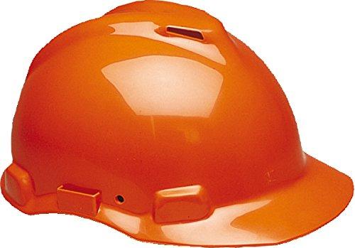 3M G22DO Peltor Schutzhelm G22, ABS, Helm Innenausstattung mit Leder SchWeißband und Pinnlock Verschluss, belüftet, Orange