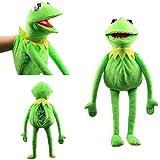L&C Kermit Frog Puppets Plüschtier Sesame Street Die Muppet Show Puppe Kermit The Frog Handpuppen...