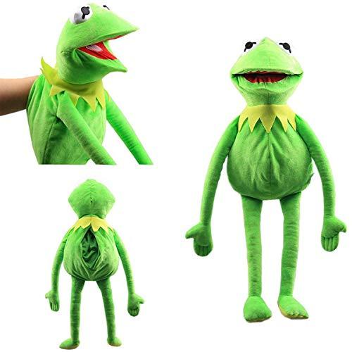 L&C Kermit Frog Puppets Plüschtier Sesame Street Die Muppet Show Puppe Kermit The Frog Handpuppen EIN Geburtstagsgeschenk Für Ihr Kind 60cm