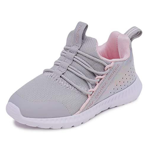 Nautica Kids Toddler Sneaker Athletic Slip-On Bungee Running Shoes Boy-Girl Toddler Little Kid-Kinssale-Pink-9