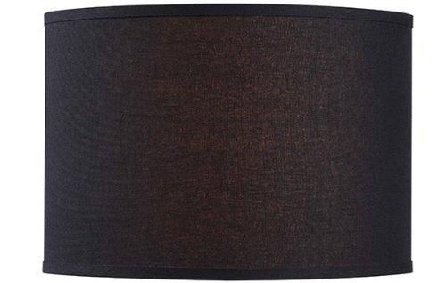 Drum Lamp Shade 16 Linen Black Buy Online In China At China Desertcart Com Productid 6310332