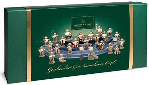 Wendt & Kühn - Set Engelberg mit Grünhainichener Engel® - 26 Figuren