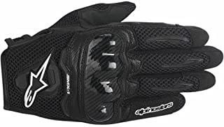 Alpinestars SMX-1 Air Mens Motorcycle Gloves - Black - Large