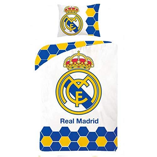 Real Madrid Football - Parure de lit - Housse de Couette 140