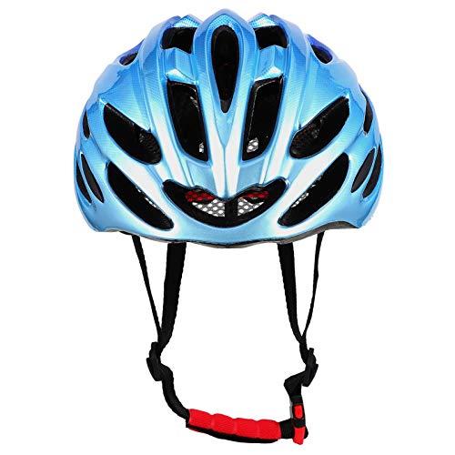 BESPORTBLE Casco de Bicicleta para Adultos Casco de Ciclismo de Cara Abierta Moto Scooter Casco de Seguridad Casco de Bicicleta Cabeza Protector con Correa de Liberación Rápida para Hombres