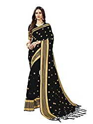 Embroidery cotton saree