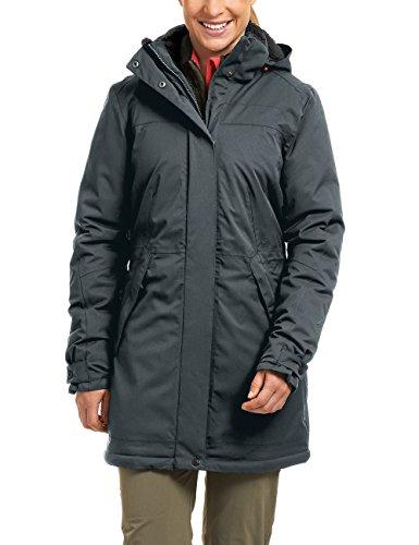 Maier Sports Damen Outdoor Mantel Lisa, Graphite, 40