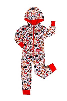 Tipsy Elves Baby Meowy Catmus Cozy Jumpsuit - Cute Cozy Christmas Infant PJs: 18-24M