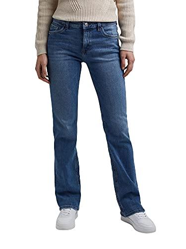 ESPRIT Damen Bootcut Superstretch Jeans, 902/BLUE MEDIUM WASH, 32W / 32L