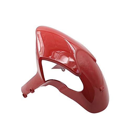 Guardabarros de Motocicleta Guardabarros Delantero para Motocicleta, Guardabarros Fit For Ducati Monster 696 796 1100 1100S EVO, Guardabarros para Motocicleta (Color : Red)