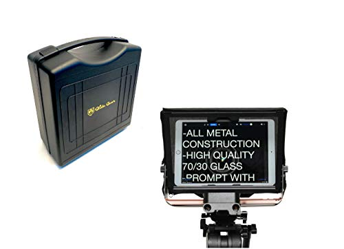 small Universal tripod for Glide Gear TMP500 camcorder, teleprompter, 15 mm, rail with carry bag