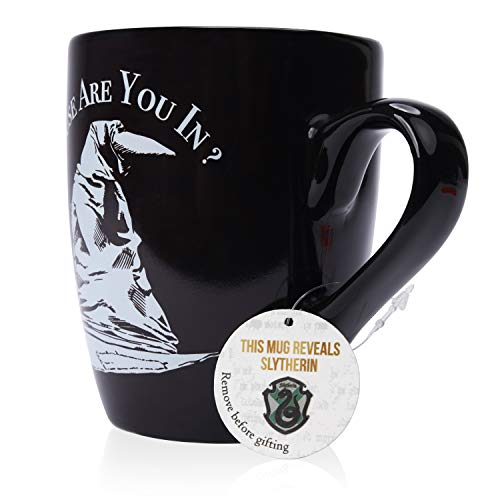 Harry Potter Wizarding World Slytherin Sorting Hat Heat Reveal Tasse