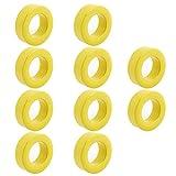 Yohii - 10 anillos de ferrita de toroide para inductor (33 x 19 x 11 mm)