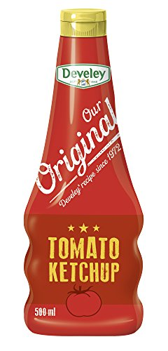 Develey Mc Donald's Tomato- Ketchup Squeeze, 500 ml Flasche