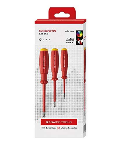 ピービースイスツールズ(PB Swiss Tools) 58548CBB スイスグリップ・絶縁ドライバーセット(BOX) 58548CBB
